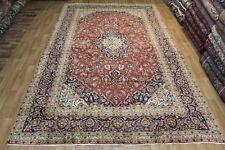 Old Hand Made Persian Kashan Traditional carpet oriental rugs carpets 13 x 8 ft