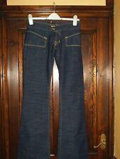 Ladies Von Dutch low rise flared jeans size 27 (US) 29 in waist U.K.