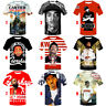 Oversized 3D Print Rapper Nipsey Hussle Women Men T-Shirt Short Sleeve Tee Tops