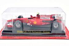 FERRARI FORMULA 1 UNO F1 SCALA 1/43 F10 ALONSO MODELLINO AUTO CAR IXO MINIATURE