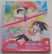 New Flip Flappers Vol.1 First Limited Edition DVD Booklet Japan F/S BIBA-3111