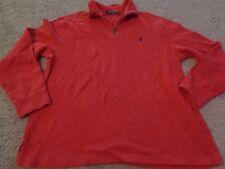 POLO RALPH LAUREN RL T-SHIRT SWEATER XL MEN SPORT RED