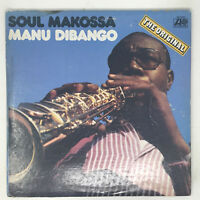 Manu Dibango Soul Makossa LP Vinyl Record Original 1973 Soul Funk