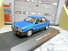 RENAULT 11 Turbo blau met blue 1984 - 1988 NEU Solido SP 1:43