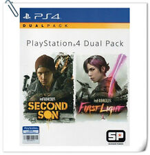 2 IN 1 PS4 INFAMOUS DUAL PACK ENG / 恶名昭彰 中英文版 SONY PlayStation Games Action SCE