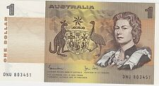 1982 (UNC) AUST ONE DOLLAR $1 NOTE - BRILLIANT CONDITION - R78 Johnston/Stone