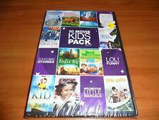 10 Movie Kids Pack (2-Disc 2011 DVD) NEW The Kid/Little Princess/Jungle Boy