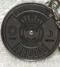 Sun Moon Keychain Key Ring Perpetual Calendar