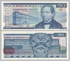 México/México 50 pesos 1981 p73 serie KB unz.