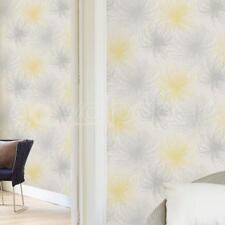Grandeco Cosmo Floral Yellow Glitter Wallpaper - A24306