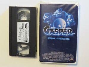 CASPER ~ SEEING IS BELIEVING ~ VHS CLASSIC 1995 ORIGINAL ~ CLAM CASE SERIES