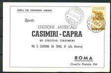 ITALIA REP. - 1960 - Giochi della XVII Olimpiade Roma, 5 lire isol. comm. libr.