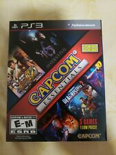 PS 3 Capcom Essentials MegaMan 10, DEVIL MAY CRY4, RESIDENT EVIL 6  and 2 more
