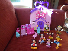Disney Mickey Mouse bundle figures and playset Donald Duck Minnie baby