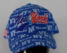 bafc9b6c68a New York Spell Out Baseball Cap Adjustable Back