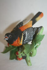 1990 Lenox Baltimore Orioles Garden Birds Porcelain Figurine Sculpture Mint