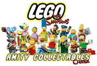 NEW! THE SIMPSONS LEGO MINIFIGURES 71005 [CHOOSE A FIGURE FROM THE LIST]