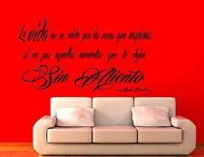 Vinilo decorativo #149# SIN ALIENTO