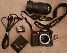 SALE! Excellent Nikon D7000 16.2MP DSLR Camera w/ 18-105mm VR Lens - Black