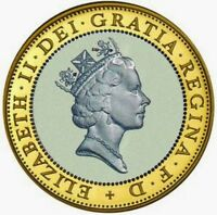 £2 coin 1997 to 2016 Technology Standing on the shoulders of giants / Britannia