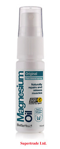 2 X BetterYou Magnesium Oil Original Pure Mineral Spray - 15ml