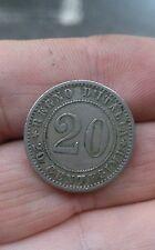 1260 # REGNO D'ITALIA  - UMBERTO I° - 20 CENTESIMI - 1895 ROMA  -  SPL