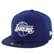 "New Era 950 Los Angeles Lakers ""Dark Royal"" Snapback Hat (Dark Royal) NBA Cap"