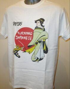 The Vapors Turning Japanese T Shirt Retro New Wave Pop Music Devo Knack Jam T468