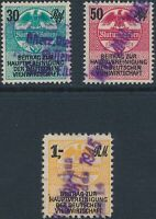Lot Stamp Germany Poland Revenue WWII 3rd Reich Slaughter Bucher Meat Tax Used
