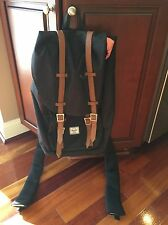 HERSCHEL SUPPLY CO. Little America Black Backpack Used