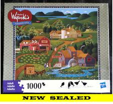 Sealed - 2010 - Burma Road - Charles Wysocki's Americana Jigsaw Puzzle