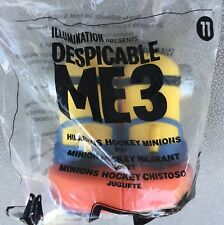 Mcdonald's  Despicable Me 3 Minions Happy Meal Toy #11 Hillarious Hockey Minion