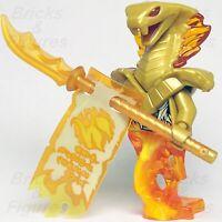New Ninjago LEGO® Aspheera Pyro Snake Forbidden Spinjitsu Minifig 70677 70674