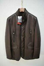 Cappotti, giacche e gilet da uomo marrone lana