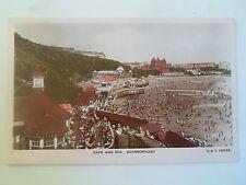 Vintage Colour Tinted RP Postcard Cafe+Spa Scarborough Franked+Stamped 1930 #58