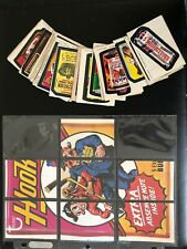 Wacky Packages Complete Series 9 (29/29) Sticker Set + 7/9 Puzzle