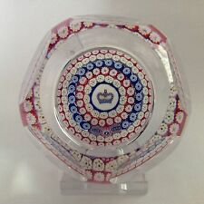 Whitefriars Silver Jubilee 1977 Glass Paperweight