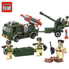 Hot Enlighten Military Rocket Launcher Missile Building Blocks Minifigures Toys