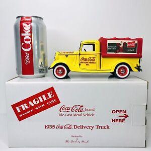 Danbury Mint 1935 Coca-Cola Delivery Truck 1:24 Scale Ford Half-Ton Truck NIB