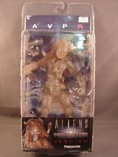 NECA AVPR ALIENS VS PREDATOR REQUIEM STEALTH CLOAKED THE WOLF PREDATOR SEALED!!