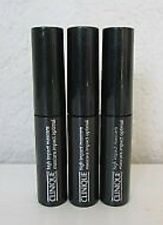 3 x Clinique High Impact  Mascara 01 Black 3.5ml each New!