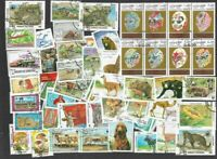 Afghanistan 200 all different stamps collection-many thematics