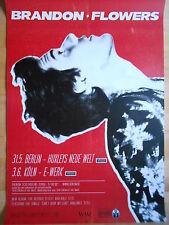 BRANDON FLOWERS 2015 TOUR  -  orig.Concert-Konzert-Poster-Plakat NEU
