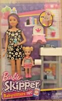 Barbie Babysitters Playset and Skipper Doll and baby Potty Training Christmas