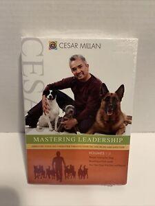 Cesar Millan - Mastering Leadership: Volumes 1-3 (DVD, 2008, 3-Disc Set)NEW!!!