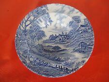vintage blue & white ridgway dessert cereal bowl ironstone england