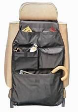 Autocare Car Seat Organiser - Black Seat Protector Pocket Storage Tidy