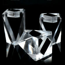3x Acrylic Ring Displays Stand Rack Jewelry Holder Showcase Organizer Kits Clear