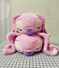 Authentic Disney Sleeping Lying Angel Stitch Friend Plush Soft Stuffed Toy