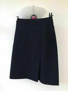 School Skirt Banner Navy Blue Side Pleat Front Pocket All Sizes Girls Teen